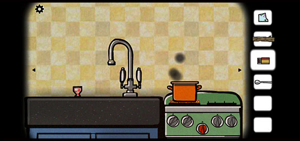 image of Cube Escape Seasons: cooking some eggs