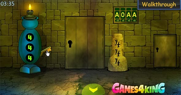 Games For King: Keys Escape gameplay screenshot 1