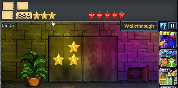 Games For King: Keys Escape gameplay screenshot 2