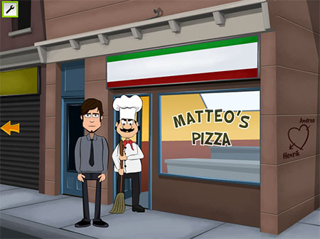 Ray And Cooper 2: Pizzeria